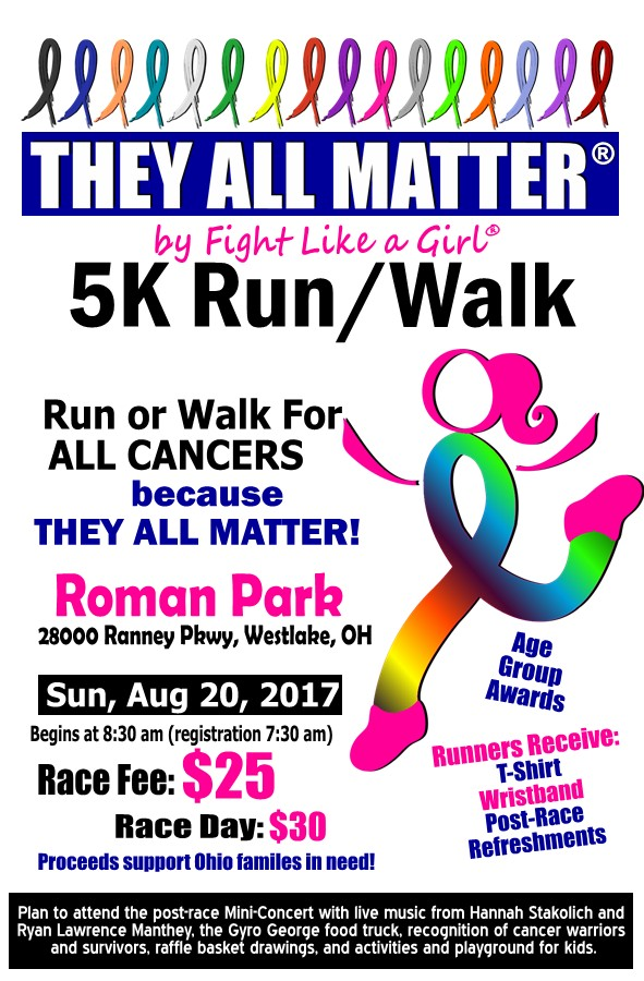 They All Matter 5K Run Walk by Fight Like a Girl