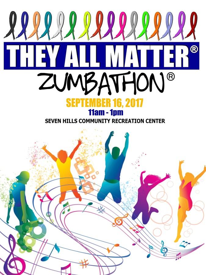 They All Matter Zumbathon Fundraiser