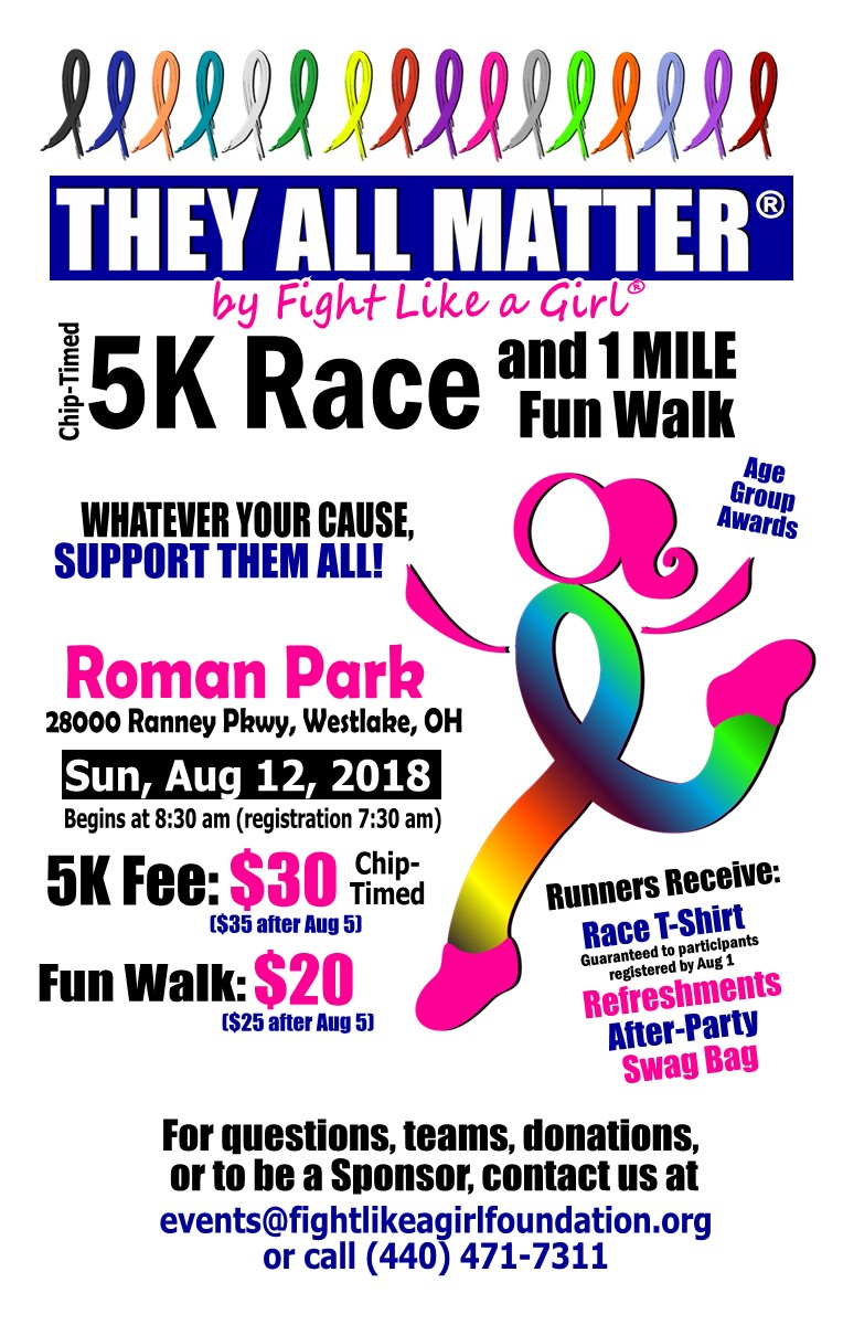 They All Matter 5K by Fight Like a Girl